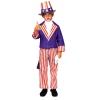 Uncle Sam Child Costume Small